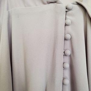 Lulu's Dresses - Lulus Meteoric Rise Light Grey Maxi Dress